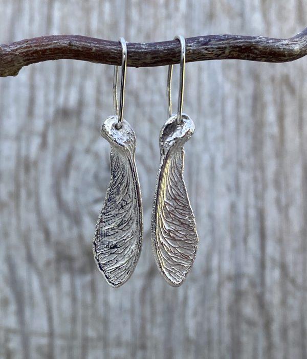 Ahorn Ørehængere sølv